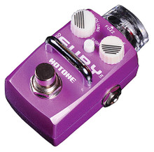 """Skyline FURY Stomp Box (Guitar Effects Fuzz Pedal). Samson Audio. General Merchandise. Hal Leonard #TPSFZ1. Published by Hal Leonard.  The Hotone FURY stomp box is a fuzz pedal that provides that classic rock n roll fuzz that can only be described as beautifully nasty. Use the PUSH button for an extra boost to make your fuzz even dirtier. The Fury is downright rude for such a little box. Classic fuzz tone with a powerful low end, it gives a clear and strong attack. Very nice on bass. Sounds from smooth creamy fuzzy drive to hyper dynamic fuzz distortion, the PUSH button adds a special """"Squeeze"""" feeling that makes the sound more unique."""