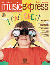 I Can See It Vol. 13 No. 6 (May/June 2013). By Katy Perry and Nikki Yanofsky. By John Jacobson, John Philip Sousa (1854-1932), and Mac Huff. Arranged by Emily Crocker, Janet Day, John Higgins, and Tom Anderson. BASIC COMPLETE PAK. Music Express. Published by Hal Leonard.  Songs: I Can See It, Firework, El Vito, I Believe, Sourwood Mountain, Musical Planet: Spain, Spotlight on Nikki Yanofsky, Listening: The Thunderer (John Philip Sousa) and more! Teacher Magazine includes Lesson Plans correlated to the National Standards plus more songs and activities, and 1 Enhanced Audio CD that includes PDFs of selected material. Digital and Premium Paks include and Interactive Student Magazine on DVD-ROM for projection in the music classroom.