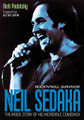 """Neil Sedaka: Rock'n'Roll Survivor (The Inside Story of His Incredible Comeback). Book. Softcover. 272 pages. Published by Jawbone Press.  From 1958 to 1963, Neil Sedaka sold 25 million records – more than anyone except Elvis Presley. He thought he could do no wrong, but a year later he was all but off the charts, swept away by the Beatles and the British Invasion – a blow he never saw coming. The deejays stopped playing his records, and the public stopped buying them.  For 12 agonizing years, Sedaka battled to get back on the charts – back to respectability. He tried everything: working with hip, young songwriters, playing on demo sessions, and even enduring the rough and tumble of working men's clubs in remote corners in the UK. Then, one magical night, he performed at the Royal Albert Hall in London. His new songs, including """"Solitaire,"""" were greeted with thunderous applause. Shortly thereafter, Elton John, the biggest rock'n'roll star of the decade, stopped by to see him and offered to sign Neil to his new label, Rocket Records.  And that was it. In October 1974, """"Laughter In The Rain"""" showed up at number 95 on Billboard – Sedaka's first appearance on the charts in over a decade. Sixteen weeks later it reached number one, sealing one of the most amazing comebacks in music history. This vivid and authoritative book, written with full access to Sedaka and those closest to him, tells the absorbing story of how he overcame one obstacle after another to become the ultimate rock'n'roll survivor."""