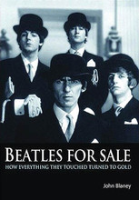Beatles for Sale (How Everything They Touched Turned to Gold). Book. Softcover. 288 pages. Published by Jawbone Press.  Beatles for Sale is a brand new way of looking at a story you may think you know inside out. Author John Blaney shows for the first time how the group and their inner circle invented so much of what we now recognize as the modern business of making and selling rock music. This was certainly not because Lennon, McCartney, Epstein, and the rest had a clear vision of the way things ought to be. Very often it was simply down to making things up as they went along – because no one had been there before and no one knew how to do these things. The book details the ups and downs of the group as they promoted, advertised, and sold records, played concerts, sold merchandise, made films, and set up publishing and record companies of their own. It is a story of naivety and greed, inexperience and luck, gullibility and ingenuity. It is the story of every aspect of how the Beatles made money – and how virtually every group since then has followed in their footsteps.