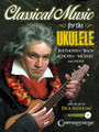 Classical Music for the Ukulele arranged by Dick Sheridan. For Ukulele. Fretted. Softcover with CD. 80 pages. Published by Centerstream Publications.  Familiar and treasured themes from operas, symphonies, concertos and keyboard compositions from works by Bach, Chopin, Mozart, Haydn, Tchaikovsky, Wagner and more are brought together in this collection expressly for the uke. You'll find gems such as: Largo (Going Home) (Dvorak) • Unfinished Symphony (Schubert) • Merry Widow Waltz (Lehar) • The Swan (Saint-Saëns) • To a Wild Rose (MacDowell) • Cradle Songs (Brahms) • Für Elise (Beethoven) • and more.