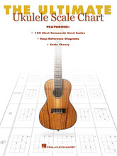 The Ultimate Ukulele Scale Chart for Ukulele. Ukulele. Softcover. 8 pages. Published by Hal Leonard.  120 of the most commonly used scales for ukulele are featured in this handy chart, showcasing easy-reference diagrams as well as scale theory.