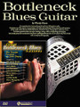 Bottleneck Guitar Pack (Bottleneck Blues Guitar (Book) with Great Bottleneck Blues Lessons (DVD)). For Guitar. Homespun Tapes. Softcover with DVD. 124 pages. Published by Homespun.  Includes the book Bottleneck Blues Guitar (HL.14004913) and the DVD Great Bottleneck Blues Lessons (HL.642091) in one money-saving pack!  The book is a comprehensive instruction guide to blues slide guitar styles. Contains over 25 accurate transcriptions of authentic bottleneck blues tunes by such masters as Son House, Robert Johnson, Charlie Patton and many more.  The DVD features some of today's greatest proponents of traditional bottleneck/slide guitar playing the soulful sounds that started in the Mississippi Delta and forever changed the world's musical landscape.