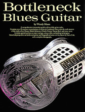 Bottleneck Blues Guitar for Guitar. Music Sales America. Blues. Softcover. Guitar tablature. 126 pages. Music Sales #OK64984. Published by Music Sales.  A comprehensive instruction guide to blues slide guitar styles. Contains over 25 accurate transcriptions of authentic bottleneck blues tunes by such masters as Son House, Robert Johnson, Charlie Patton and many more.  Songs include: A Spoonful Blues • Black Ace • C.C. Rider • Come on in My Kitchen • Country Farm Blues • Crossroad Blues • Denver Blues • Don't Sell It • Dry Spell Blues • High Sheriff Blues • I Got to Cross That River of Jordan • It's Just Too Bad • Mean Old Twister • Milk Cow Blues • No Woman No Nickel • Poor Boy Long Way from Home • Roll and Tumble • So Lonesome • Walking Blues • Whoopee Blues • Yo Yo Blues • You Can't Keep No Brown • You Got to Reap What You Sow • Your Enemy Cannot Harm You.