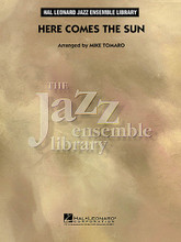 Here Comes the Sun composed by George Harrison. Arranged by Mike Tomaro. For Jazz Ensemble (Score & Parts). Jazz Ensemble Library. Grade 4. Published by Hal Leonard.  This is probably George Harrison's most famous contribution to the illustrious catalog of recordings by The Beatles! Mike Tomaro maintains the general flavor of the distinctive original and takes the opportunity to dress it up a bit for jazz ensemble. A classy new shine on a familiar gem!