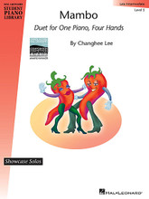 Mambo (Showcase Solos 1 Piano, 4 Hands 2014 Carol Klose Hal Leonard Composition Competition Award Winner). Composed by Changhee Lee. For 1 Piano, 4 Hands. Educational Piano Library. 12 pages. Published by Hal Leonard.  Composed by Changhee Lee, this winning composition in the inaugural 2014 Carol Klose Hal Leonard Composition Competition (collegiate division) delivers a skillfully crafted and inspiring duet for one piano, four hands.