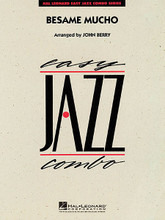 Besame Mucho (Kiss Me Much) composed by Consuelo Velazquez and Sunny Skylar. Arranged by John Berry. For Jazz Ensemble (Score & Parts). Easy Jazz Combo. Grade 2. Published by Hal Leonard.  This Latin favorite arranged for easy combo features solid tutti scoring for young players. In addition there are brief solos written into all four parts.