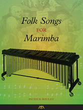 Folk Songs for Marimba composed by Garwood Whaley. For Marimba. Meredith Music Resource. Softcover. 48 pages. Published by Meredith Music.  The songs in this collection are drawn from the rich folk music traditions from around the world. Each folk song is arranged three ways: the folk song tune by itself, a two-mallet version using rolls and/or double stops, and a four mallet version. The collection is ideal for beginning, intermediate, or even advanced mallet players who are looking for four-mallet sight reading material. The songs can be performed individually or together in a group. Songs include: America the Beautiful • Cockles and Mussels • Danny Boy • Greensleeves • Loch Lomond • Scarborough Fair • Shenandoah • Were You There • and more.