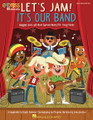 Let's Jam! It's Our Band (Reggae, Rock and More Express Musical for Young Voices). Composed by John Jacobson and Roger Emerson. For Choral (TEACHER ED). Music Express Books. Published by Hal Leonard.  Our brilliant and talented music teacher gave us a FUN assignment - form a band and play for you! BUT we have studied so many cool styles in this fantastic music class, we don't know what kind of band we want to be! Come on down to the Twist and Shout and explore some great country, reggae, Motown, surf and blues like you've never heard it before! Perfect for upper elementary and middle school singers, this jammin' musical revue features entertaining hits from the past, carefully arranged by Roger Emerson for younger unison voices along with some optional harmony. Add the program dialog and choreography by John Jacobson for some great dancing in the street! And there's more! Extend learning with interesting online video interviews that explore rockin' horns, playing reggae, country fiddle, harmonica and more! The Teacher Edition features reproducible program dialog, piano/vocal arrangements and choreography. The Singer Edition 20-pak features singer parts in attractive full color spreads. 25 minutes. Suggested for Grades 4-8. What kind of band do you want to be?
