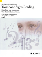 Trombone Sight-Reading (A Fresh Approach). Composed by John Kember and Simon Tate-Lovery. For Trombone. Brass. Softcover. 96 pages. Schott Music #ED13622. Published by Schott Music.  Over 200 carefully graded sight-reading pieces and exercises in a range of musical styles. Includes solos, duets and pieces with piano accompaniment. Suitable for beginning to advanced level students.