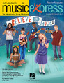 Believe in Music Vol. 15 No. 5 (March/April 2015). Composed by Alan Menken, Cristi Cary Miller, Elton John, John Jacobson, and Roger Emerson. Arranged by Emily Crocker and John Higgins. For Choral (Teacher Magazine w/CD). Music Express. Published by Hal Leonard.  Get on board the Music Express with this essential resource for general music classrooms and elementary choirs. Join John Jacobson and friends as they provide you with creative, high-quality songs, lessons and recordings that will keep students engaged and excited! This March/April 2015 issue includes: Believe in Music * Under the Sea (from The Little Mermaid)* Circle of Life (from The Lion King) * Shining Moon * I Love the Mountains * Lambs and Lions * Rondo from Mozart's Horn Concerto No. 4 * plus more songs and activities in the teacher magazine.