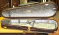 Musafia Lievissima Ultralight Case - Violin, Dart Shape with large music pocket