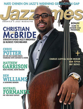 Jazz Times Magazine - April 2013 Issue Jazz Times. 74 pages. Published by Hal Leonard.  Christian McBride, Chris Potter, Curtis Hasselbring, Matthew Garrison and much more. Plus reviews, the latest jazz news.