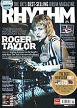 Rhythm Magazine - August 2012 Issue rhythm. 130 pages. Published by Hal Leonard.  Cover feature story on Queen's Roger Taylor. Plus Will Hunt, Johnny Jenkins, Carl Palmer, Benny Greb, Richie Ramone, and much more.