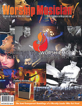 Worship Musician Magazine March / April 2015 Worship Musician. 50 pages. Published by Hal Leonard.  Worship Musician – March/April 2015 Cover Stories: Carrying the Worshipmob Fire to Every Heart • Record Reviews: Passion, Matt Maher, Vertical Worship Band, Aaron Gillespie, Third Day • Product Review: 3rd Power British Dream MKII • The Semi-Transparent Ramblins of a Worship Leader Who Got Fired.