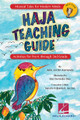 """HAJA: Teaching Guide (Activities for Pre-K through 2nd Grade). Composed by Julia Jordan Kamanda. For Choral (TEACHER ED). Expressive Art (Choral). Published by Hal Leonard.  """"I want to see you flap flap flap your wings, and drum drum drum your heartbeat..."""" even your littlest rhythm-makers will song, clap, dance and cheer as Haja (AH-ja) learns to fly! Kid-tested and teacher-approved ... Musical Tales for Modern Minds' HAJA TEACHING GUIDE offers step-by-step multicultural lesson plans and student hands-on learning activities. Aligned to our national core curriculum standards for young learners to develop their multiple intelligences and creative expression, this Guide provides ways to engage with music-making, language arts and multi-sensory experiences. Through the story of Haja, The Bird Who was Afraid to Fly and the companion song """"Fly Haja Fly"""", students can identify with Haja's transformation as she overcomes her fear. They'll take her example of success to heart as she builds her confidence, gaining self-awareness and determination. Young students will explore and practice learning sounds and rhythms, and identifying colors and patterns. The guide also offers an interdisciplinary introduction to West African instruments, designs, food and more. Suggested for ages 4-7. """"Today's lesson was a huge success! The kids loved it! They loved the story, song, drumming.... everything. They wanted to listen to the song several times and on the way out I could hear them singing the chorus ..."""" (music educator, Wharton Elementary, Lancaster PA)."""