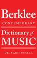 The Berklee Contemporary Dictionary of Music berklee Guide. Softcover. 224 pages. Published by Berklee Press.  A comprehensive reference to terms used in the performance, creation, and study of music today. Covering instrumental and voice performance, audio technology, production, music business, and other dimensions of the modern music industry, its 3,400+ entries include many terms that are common among practicing musicians, but are found in no other dictionary. At the same time, it incorporates traditional terminology from early music to the present and across diverse cultures, as well as clarifying customary instrumental abbreviations and foreign language terms. Comprehensive lists of scales and chord symbol suffixes are itemized in the appendices.