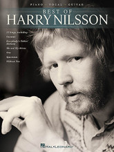 Piano/Vocal/Guitar By Harry Nilsson. Piano/Vocal/Guitar Artist Songbook. Softcover. 80 pages. Published by Hal Leonard.  15 songs from this Grammy Award-winning singer/songwriter whose songs were made popular in the '70s. Our collection includes 15 songs in arrangements for piano, voice and guitar: Coconut • Everybody's Talkin' (Echoes) • Jump into the Fire • Me and My Arrow • One • Spaceman • Without You • You're Breakin' My Heart • and more.