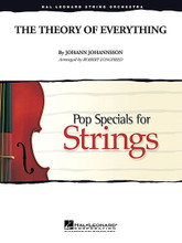 String Orchestra (Score & Parts) - Grade 3-4 Composed by Johann Johannsson. Arranged by Robert Longfield. Pop Specials for Strings. Published by Hal Leonard.