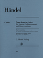 Solo Instrument, Basso Continuo, Soprano Composed by George Frideric Handel (1685-1759). Henle Music Folios. Softcover. G. Henle #HN968. Published by G. Henle.  We do not know very much about Handel's compositions on poems by Barthold Heinrich Brockes. We can only date their composition to approximately 1724-1727. The autograph does not shed any light on the titles nor the sequence of the works. It does not even give the instrumentation. Thus there are several alternatives for the solo instrument that imitates the vocal part - although violin, flute or oboe are the most likely. Henle's practical edition not only contains additional parts for the solo instrument and the bassbut also a realization of the figured bass in the score by the editor Ullrich Scheideler.