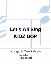 """(Performance/Accompaniment CD) Collection for Young Voices. Arranged by Tom Anderson. Expressive Art (Choral). CD only. Published by Hal Leonard.  Bop along with these hot, chart-rising hits with arrangements sung by kids for kids. You'll be creating new stars when performing songs like Rachel Platten's """"Fight Song,"""" Taylor Swift's """"Shake It Off"""" and """"Uptown Funk"""" featuring Bruno Mars. Authentic accompaniment recordings reflect the Kidz Bop versions on the Performance/Accompaniment CD. They have been crafted with kids (and their parents and teachers!) in mind, or you can perform the songs with the fully accompanied songs provided in the Piano/Vocal Collection. The Singer Edition comes in handy paks of ten with vocal parts only. You will roar like it's the best day of your life when you feature Let's All Sing Kidz Bop at your next concert! Suggested for grades 5-8."""