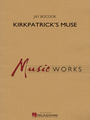 """Concert Band (Score & Parts) - Grade 4 Composed by Jay Bocook. MusicWorks Grade 4. Softcover. Published by Hal Leonard.  Commissioned by the McDaniel College Summer Music Camp in Westminster, Maryland, Kirkpatrick's Muse celebrates 30 years of excellence and is dedicated to camp founder, Dr. Linda Kirkpatrick. The piece opens with a plaintive Irish style flute solo, then moves seamlessly to the fast-paced section loosely based around the Appalachian fiddle tune """"Glory in the Meeting House"""" introduced by the bodhran (Irish frame drum). Highlighting the simple charm of traditional Irish music, Kirkpatrick's Muse also features some wild excursions in color, texture and harmony. Dur: 5:00."""
