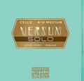 Versum SOLO Cello A + D String Combo Pack