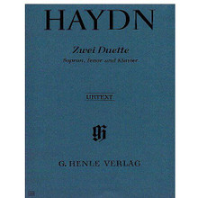 2 Duets for Soprano, Tenor and Piano Hob.XXVa:2 and 1 by Franz Joseph Haydn (1732-1809). Edited by Marianne Helms. Voice. Henle Music Folios. Pages: V and 19. Softcover. 24 pages. G. Henle Verlag #HN538. Published by G. Henle Verlag.