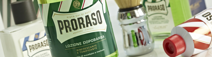 Proraso Shaving Banner | Maguires Barbershop