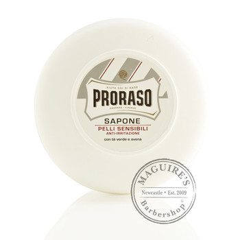 Proraso Shaving Soap Pot - White