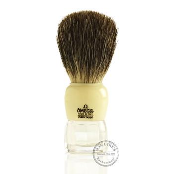 Omega #63170 Pure Badger Hair Shaving Brush