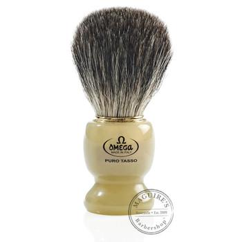 Omega #63171 Pure Badger Hair Shaving Brush