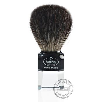 Omega #63173 Pure Badger Hair Shaving Brush