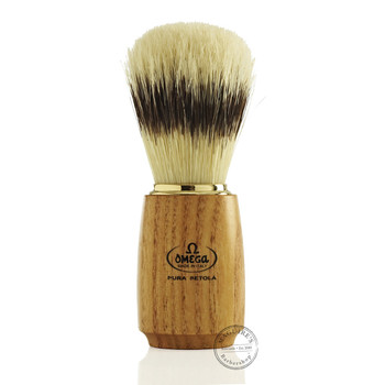 Omega #11150 Pure Bristle Shaving Brush