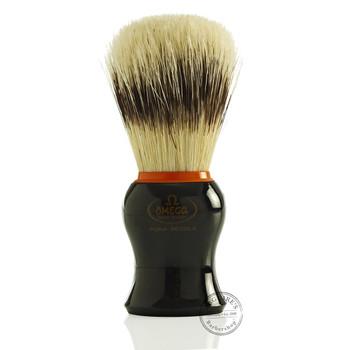 Omega #11574 Pure Bristle Shaving Brush