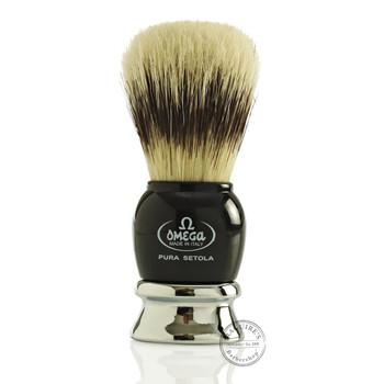 Omega #11648 Pure Bristle Shaving Brush