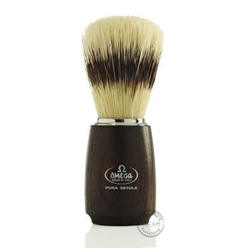 Omega #11712 Pure Bristle Shaving Brush