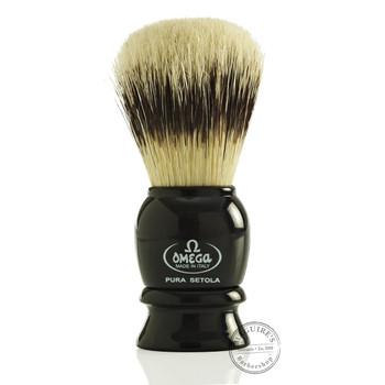 Omega #13522 Pure Bristle Shaving Brush