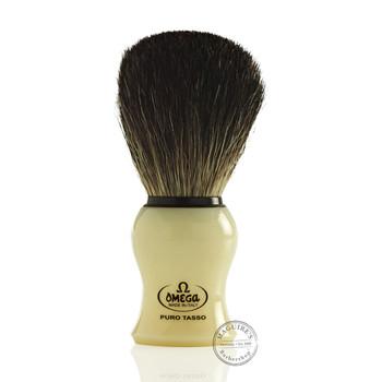 Omega #13109 Pure Badger Hair Shaving Brush
