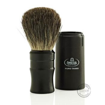Omega #614 Pure Badger Hair Shaving Brush