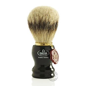 Omega #618 Pure Badger Hair Shaving Brush