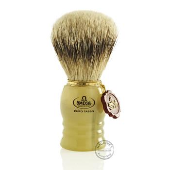 Omega #620 Pure Badger Hair Shaving Brush