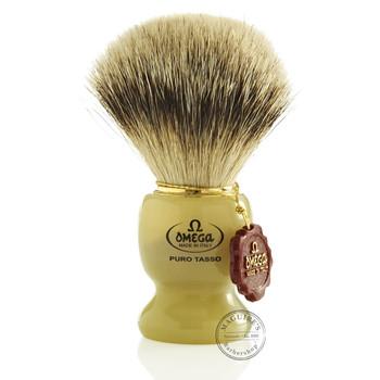 Omega #621 Pure Badger Hair Shaving Brush