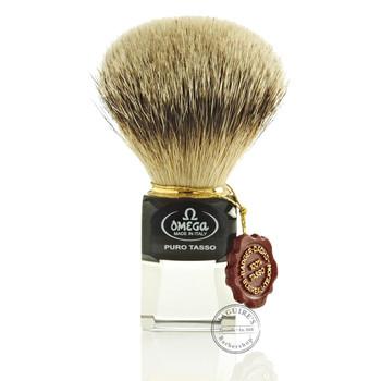 Omega #632 Pure Badger Hair Shaving Brush
