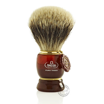 Omega #638 Pure Badger Hair Shaving Brush