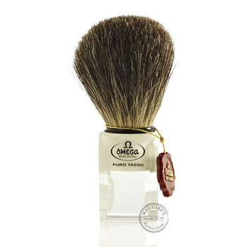 Omega #6188 Pure Badger Hair Shaving Brush