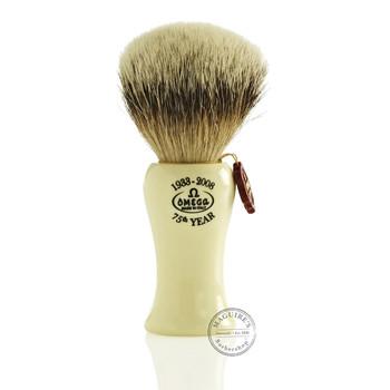 Omega #6619 Pure Badger Hair Shaving Brush