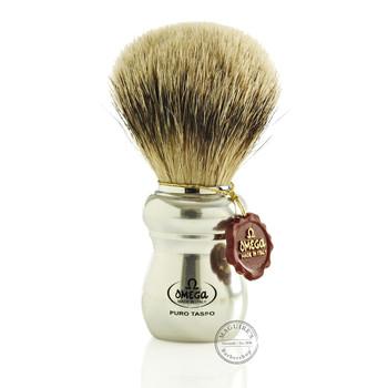 Omega #6652 Pure Badger Hair Shaving Brush