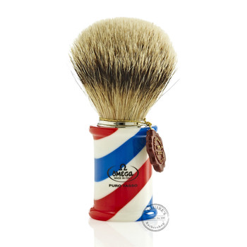 Omega #6735 Pure Badger Hair Shaving Brush