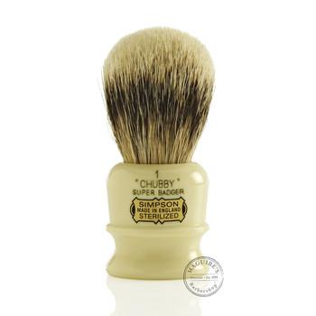 Simpsons Chubby 1 - Super Badger Shaving Brush